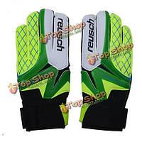 Профессиональные футбольный вратарь перчатки утолщаются латекса износостойкие вратарские перчатки