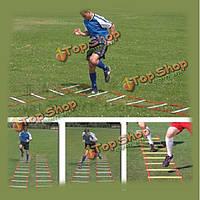13-ступеньки 7м ловкость скорость лестнице для футбольного скорости футбол обучение