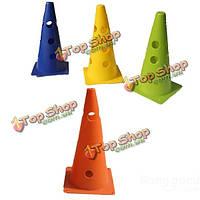 Футбольная тренировка конус дорожный конус ствола маркера