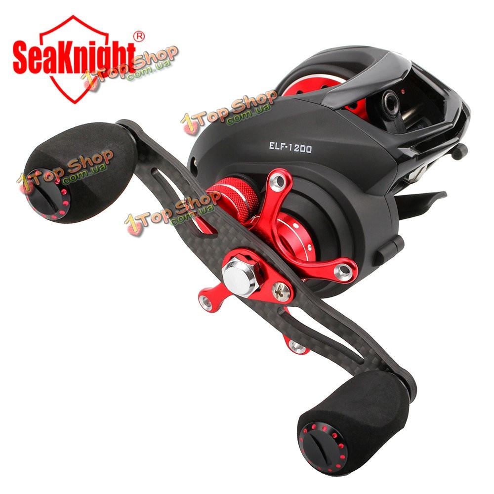 Seaknight Эльф 1200 14bb углеродного волокна супер свет 169g две тормозные  системы Мультипликаторы рыболовная катушка -