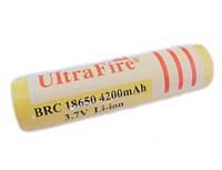 Аккумулятор UltraFire BRC 18650 4200 mAh Li-Ion