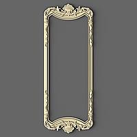 Рама резная для зеркала прямоугольная