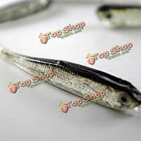 Серый мягкий силиконовый рыболовные приманки приманки пресной воды с морской водой