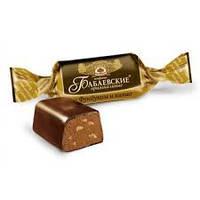 Шоколадные конфеты Бабаевский с фундуком кондитерской фабрики Бабаевский