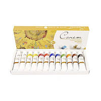 Набор масляных красок СОНЕТ 12 цветов 10 мл, набор 200599