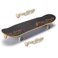9 слойный клен четыре колеса скейтборда двойной деформированные профессиональная дорога Longboard