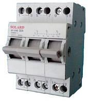 Переключатель нагрузки SNH4/CS 1P 25A 400B Solard