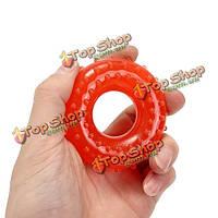 35кг предплечье рукоятка силиконовая сила кольцо Тренажер палец восстановления тренер Иглоукалывание Массажер