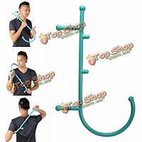 Терапия тростника полное тело массаж спины шеи крючок Acupoint само массажер сбросьте давление палки мышцы