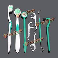 8шт продукта уход за полостью рта уход за зубами набор инструментов