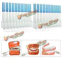 Интердентальные щетки-ершики для чистки зубов 200шт