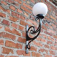 Кованый фонарь, уличный фонарь, светильник кованый