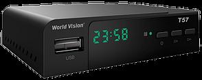 Тюнер T2 для цифрового телевидения, World Vision T57