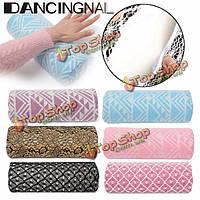 Dancingnail кружева ногтей подушки подушки мягкие маникюр рука держатель остальное