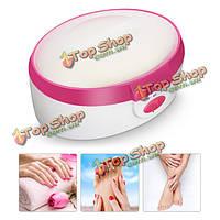 110В-120В машина лечение парафиновой терапии нагрева теплее рук для ног для ухода за кожей спа штепсельной вилкой США