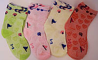 Детские носочки сетка на девочку. В упаковке 12 пар