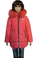 Удлиненная, зимняя куртка