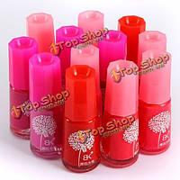 Красный на водной основе отслаиваться Б.К. лак для ногтей нетоксичным безвкусный многоцветной ароматного материнский