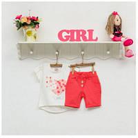 Комплект для девочки ТМ Фламинго, стрейч-кулир (артикул 900-416)