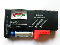 Универсальный тестер заряда батареек, аккумуляторов BT-168, фото 1
