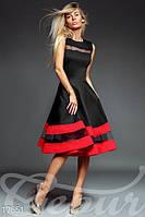 Эксклюзивное платье с пышной юбкой S M L