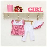 Комплект для девочки ТМ Фламинго, интерлок (артикул 146-222)