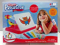"""Проектор детский для рисования большой (на листах А4). """"3-в-1"""""""