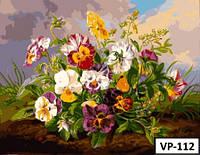 Картина на холсте по номерам VP 112 40x50см
