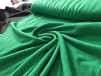 Флис зеленый, травяной, цвет морской волны