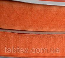 Лента липучка 20 мм.оранжевая №157(25м)(24 компл.в ящ)