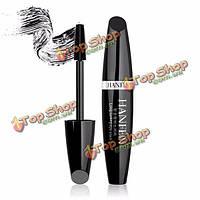 HANFEN черный глаз тушь для ресниц длинный керлинг Удлинение расширение толстой ресниц косметический макияж