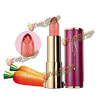 Натуральный каротина желе помада Золотой Лист цвет не меняется не увядает увлажняющий водонепроницаемый макияж бальзам