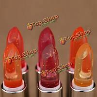 Chaolan желе помады увлажняющие изменения цвета губ прочный кормит палку бальзам для макияжа