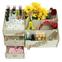 WPC макияж косметические коробки ящики для хранения держатель духи ювелирные изделия кейс организатор шкаф