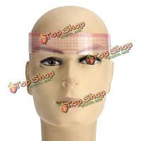 Оформление бровей холить трафарет линейка шаблон челом для повторного использования