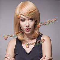7 цветов леди прямые человеческие волосы парик моно топ Remy девственницы монолитным элегантный длинный естественный