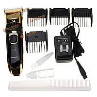 Профессиональный электрический перезаряжаемые волосы триммеры для стрижки волос триммер для бороды