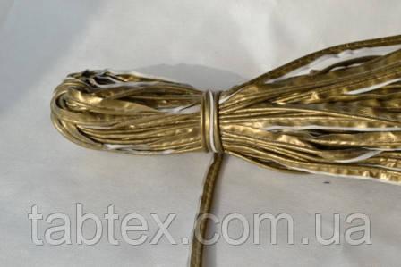 Кант лаковий золото 50 ярд.