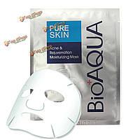 1шт bioaqua маска для лица удаление влаги из акне питания Суть листа по уходу за кожей