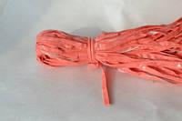 Кант лаковый розовый 50 ярд.