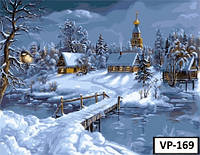 Картина на холсте по номерам VP 169 40x50см
