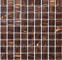 Мозаика смальта коричневая Vivacer G13