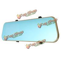4.3-дюйма HD видео камера 1080p автомобиль зеркало заднего вида Видеорегистратор двойной линзы тире камера рекордер
