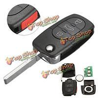 Автомобиль флип-режиссерский ввод ключа дистанционного управления кнопку брелока 4 для Audi A4 A6 a8 s4 S6 s8 тт