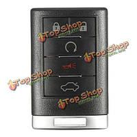 5 Кнопка 315hz дистанционный ключ ключ пульт дистанционного брелока для CADILLAC CTS DTs петлях