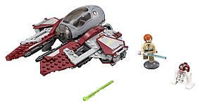 LEGO Star Wars Перехватчик джедаев Оби-Вана Кеноби Obi-Wan's Jedi Interceptor TM 75135