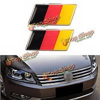 Эмблема для автомобиля немецкий флаг Германии