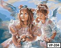 Картина на холсте по номерам VP 204 40x50см