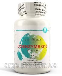Коэнзим Q-10 Нутрикеа США Арго для укрепления сердца, сосудов, иммунитет, гипертония, атеросклероз, анемия