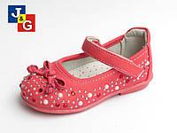 Детские туфли для девочек со стразами 21-29рр. Jong Golf
